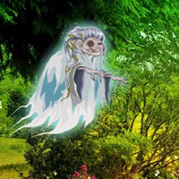 Free online flash games - Escape From Ghost Garden