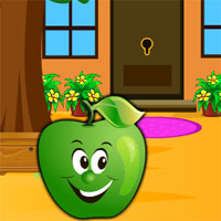 Free online flash games - Avmgames Find The Green Apple