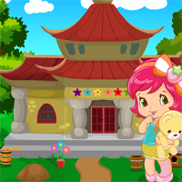 Games4King Cute Little Girl Escape