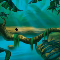 Free online flash games - FunEscapeGames Dark Hidden Jungle Escape