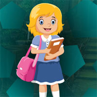 Free online flash games - G4K Cute College Girl Escape