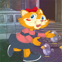 Free online flash games - G4K Cat Girl Escape