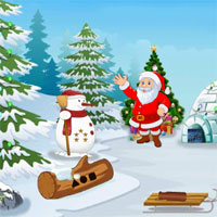 Free online flash games - Christmas Find The Santa Stick