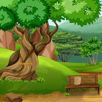 Free online flash games - Top10 Escape From The Garden Villa