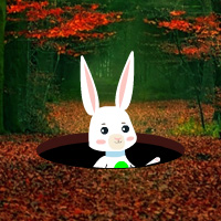 Free online flash games - Easter Bunny Autumn Forest Escape