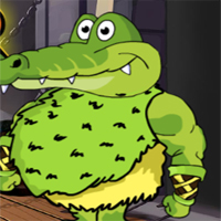 Free online flash games - G2J Crocodile Warrior Rescue
