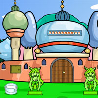 Free online flash games - G2J Palace Pigeon Rescue Escape