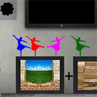 Free online flash games - 8b Ebullient Girl Escape