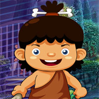 Free online flash games - G4K Stone Age Cave Boy Escape