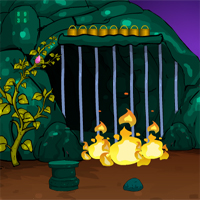 Free online flash games - Games4Escape Halloween Pygmy Goat Escape