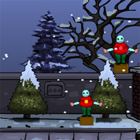 Free online flash games - Xmas Reindeer Escape