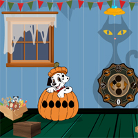 Free online flash games - Halloween Find The Locked House Key