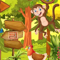 Free online flash games - Top10 Rescue the Chimpanzee