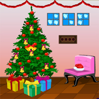 Free online flash games - Games4Escape Reindeer House Escape