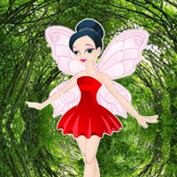 Free online flash games - Butterfly Girl Forest Rescue