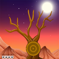 Free online flash games - G2J Desert Wooden House Escape