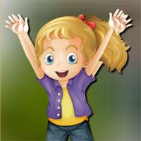 Free online flash games - Avm Joyful Girl Escape