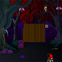 Free online flash games - Games4Escape Halloween Green House Escape