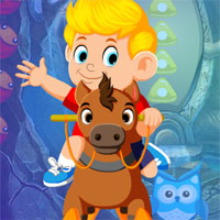 Free online flash games - G4K Rocking Horse Rescue Escape