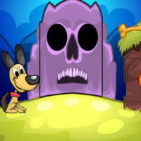 Free online html5 escape games - G2M Witch Dog Escape