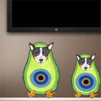 Free online flash games - 8b Scottish Terrier Escape