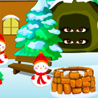 Free online flash games - Merry Christmas Escape AVMGames