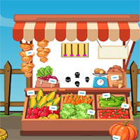 Free online flash games - G2J Cute Girl Rescue From Market
