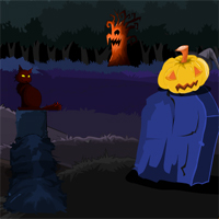 Free online flash games - MirchiGames Find Spooky Treasure Witch Relief