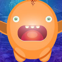 Free online flash games - G4K Cowardice Creature Escape