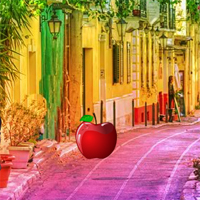 Free online flash games - Tropical Flower Street Escape