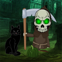 Free online flash games - Games2rule Graveskull Forest Escape