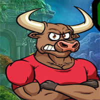 Free online flash games - G4K Bull Man Rescue Escape
