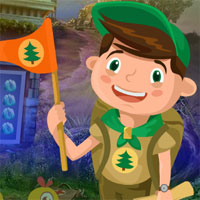 Free online flash games - G4k Flag Boy Rescue