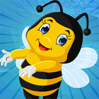 Free online flash games - Games4king Pretty Bee Escape