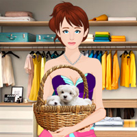 Free online flash games - Find the Puppies in Boutique Showroom