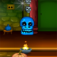 Free online flash games - G4E Halloween Witch Doors Escape
