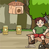 Free online flash games - Games2Jolly The Ghost King Rescue