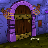 Free online flash games - Games4Escape Halloween Party Door Escape