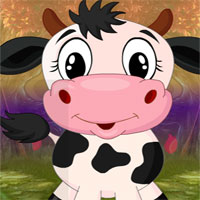 Free online flash games - G4k Puckish Cow Rescue