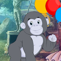 Free online flash games - G4K Modest Chimpanzee Rescue Escape