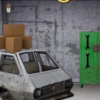 Free online flash games - Ekey Garage Machine Room Escape