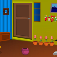 Free online flash games - Games4Escape Christmas Crazy Door Escape