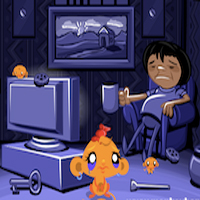 Free online flash games - Monkey Go Happy-Stage 327