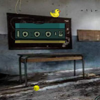 Free online flash games - GFG Abandoned Creepy Class Room Escape i