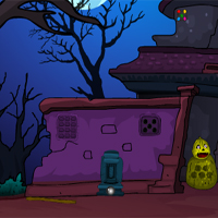 Free online flash games - Games4Escape Spooky Cursed House Escape
