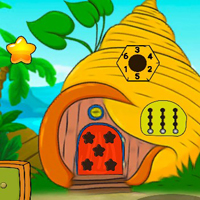Free online html5 escape games - G2J Tree House King Escape