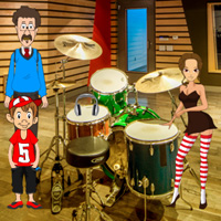 Free online flash games - Games2rule Escape with Musical Notebook