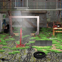 Free online flash games - 5N Auto Workshop Escape