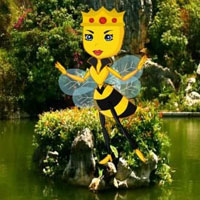 Free online html5 escape games - Starving Bee Escape HTML5
