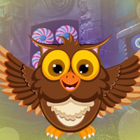 Free online flash games - G4K Joyous Owl Escape